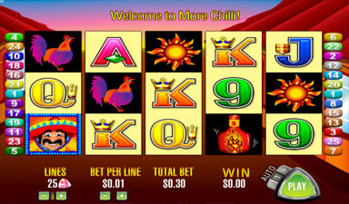 More Chilli Slot Machine App